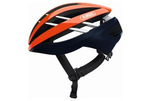Casco Bicicleta Abus Aventor Shrimp Orange