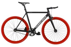 Bicicleta Fixie FabricBike Light Black & Red