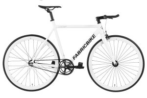 Bicicleta Fixie FabricBike Light Fully Glossy White