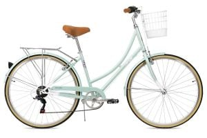 Bicicleta Paseo Mujer FabricBike Step-City 7V Mint Green