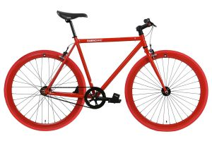 Bicicleta Fixie FabricBike Original Fully Glossy Red
