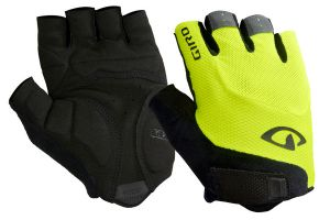 Guantes Giro Bravo Gel Black/Highlight Yellow