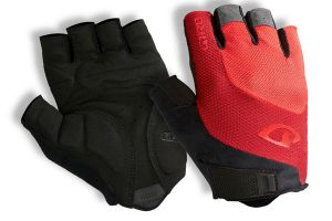 Guantes Giro Bravo Gel Bright Red