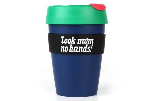 Vaso Look Mum No Hands! KeepCup Grande Azul
