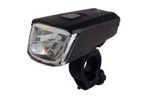 Luz delantera USB Union 170 Li-On Negro