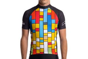Maillot ciclista State Bicycle x The Simpsons - Color Block