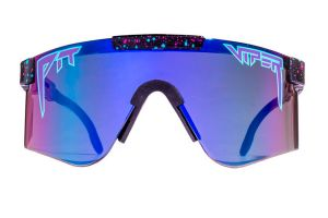 Gafas Pit Viper Night Fall Double Wide Reflectantes Lila