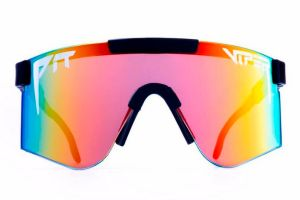 Gafas Pit Viper Mystery Reflectantes Doble Ancho Arco Iris