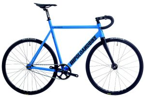 Bicicleta Pista Poloandbike Williamsburg New Gen Azul