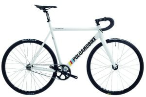 Bicicleta Pista PoloandBike Williamsburg New Gen Blanco