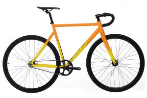 Bicicleta Santafixie Raval Yellow Sunset