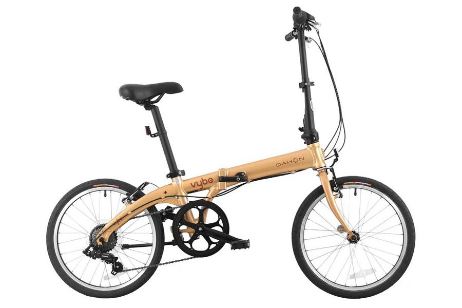 Dahon Vybe D7 Vouwfiets - Brons