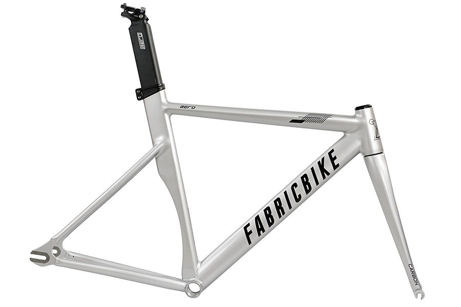 FabricBike Aero Space Grey & black Frameset