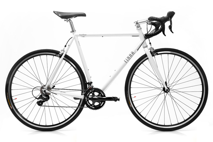 Finna Road Racer Fiets - Pearl White