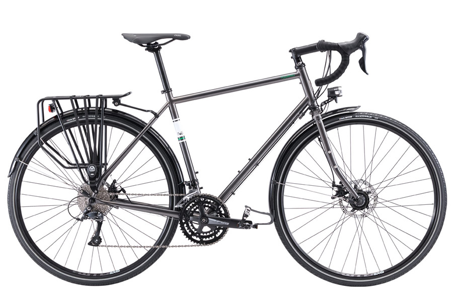 Fuji Bikes Touring Disc LTD 2020 Fiets - Antraciet