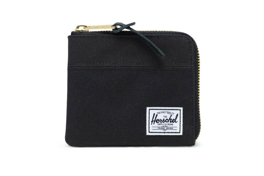 Herschel Johnny Portemonnee Black