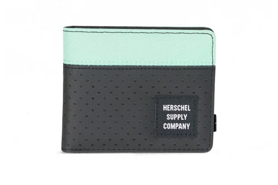 Herschel Roy Portefeuille Black-Lucite Green Aspect Collection