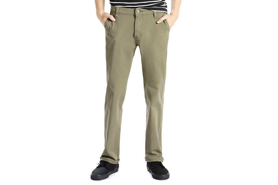 Levi's Commuter 511 Slim Fit Trousers - Lichen Green