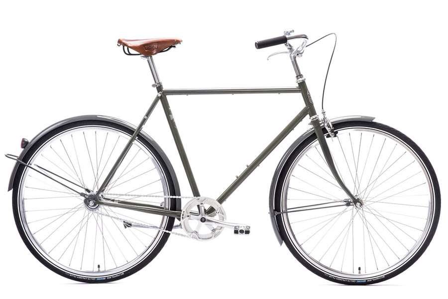 Pelago Bristol Stadsfiets - Traffic Grey