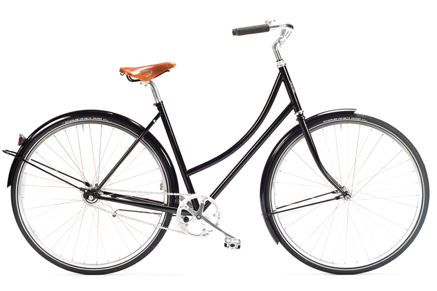 Pelago Brooklyn Classic Damesfiets - Black