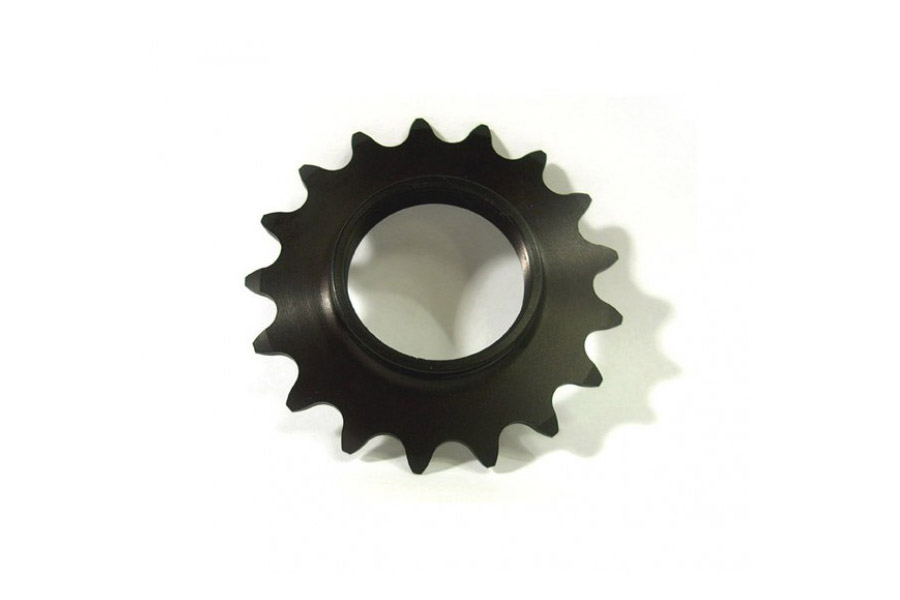 Fixed Tandwiel 17t - Zwart + Lockring
