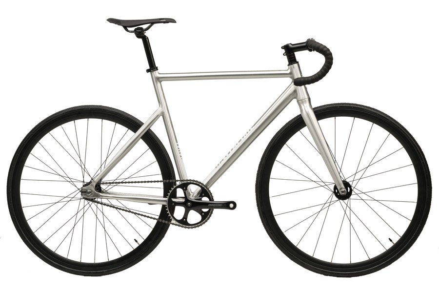 Santafixie Raval Fixie Fiets - Raw 30mm 2S