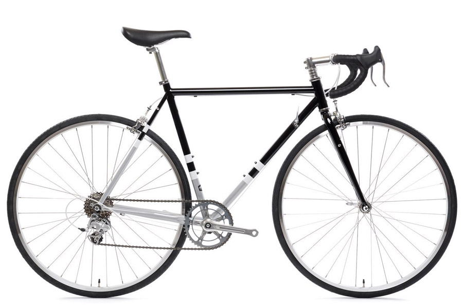 State Bicycle Co. 4130 Road Black & Metallic Racefiets