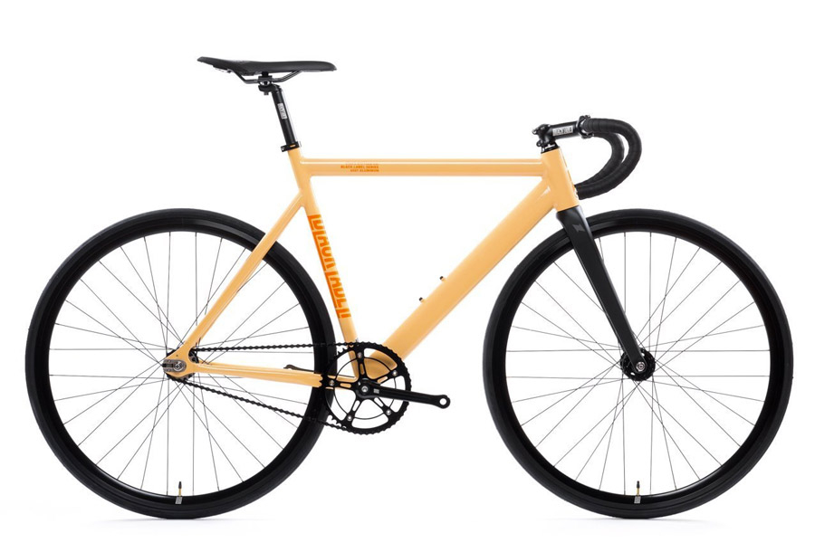 State Premium Black Label V2 Fixie Fiets - Peach