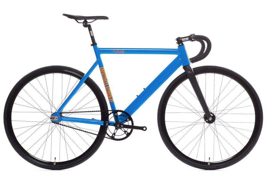 State Premium Black Label V2 Fixie Fiets - Typhoon Blue