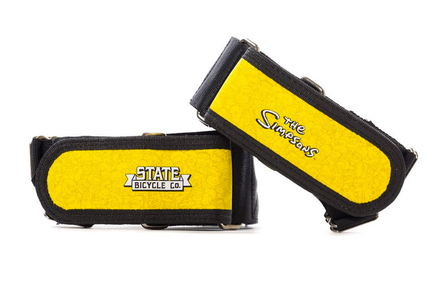 State Bicycle x The Simpsons Springfield Character Wrap Straps