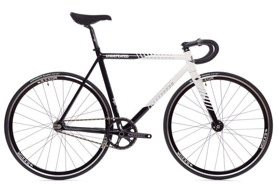 State Undefeated 2 Black & White Edition Track Fiets