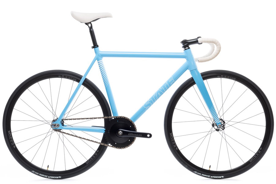 State Undefeated 2 Photon Blue Edition Track Fiets