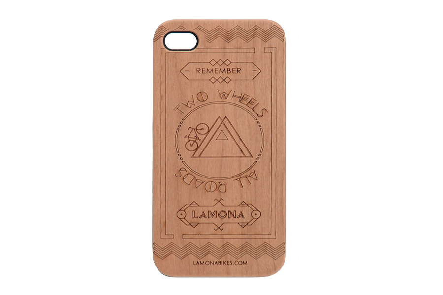 Houten Cover iPhone Lines