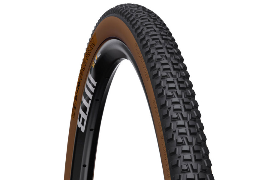 WTB Cross Boss TCS Light Fast Rolling 700C Band - Zwart/Bruin