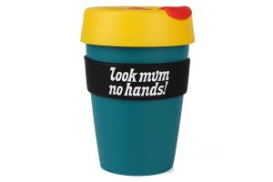 Vaso Look Mum No Hands! KeepCup Grande Turquesa