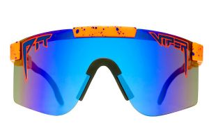 Gafas Pit Viper Crush Polarizadas Reflectantes Double Wide Azul