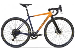 Bicicleta Gravel Vitoria Nyxtralight Explorer APEX Orange
